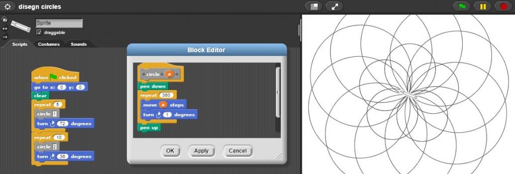 snap circles designer