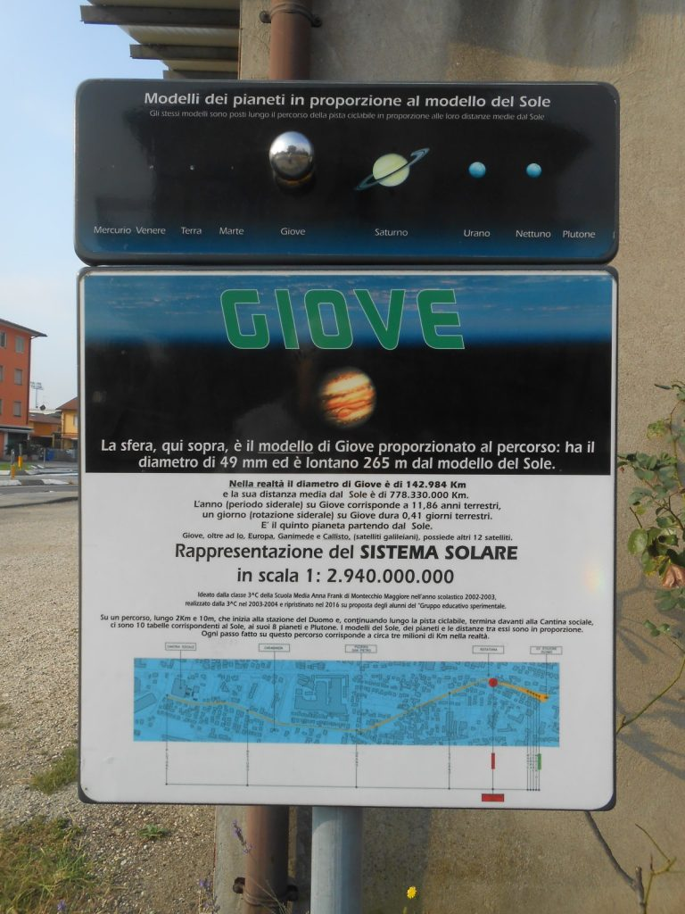sistema solare: giove (Montecchio Maggiore)