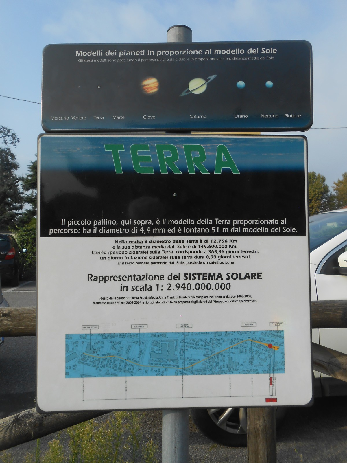 sistema solare: terra (Montecchio Maggiore)