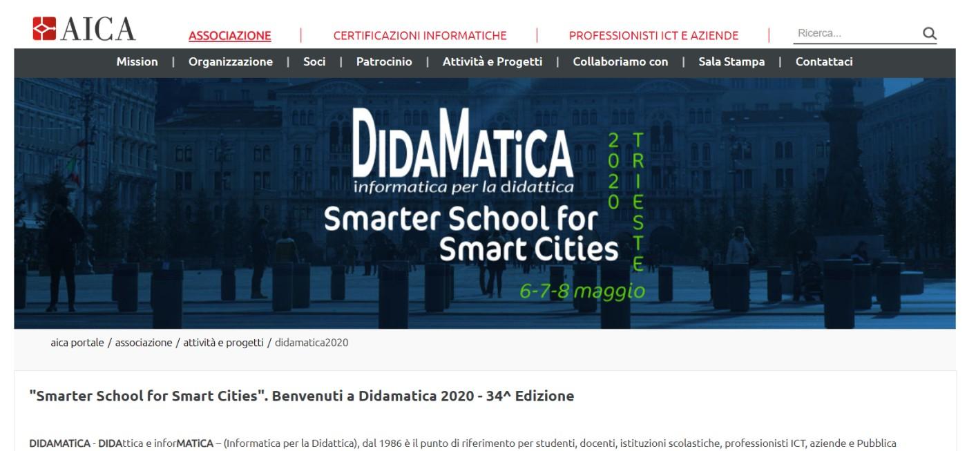 DidaMatica 2020